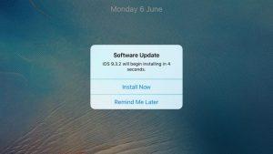 Cómo evitar que un iPhone solicite actualizar iOS