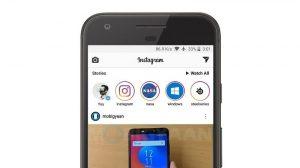 Instagram prueba una barra de Historias adhesiva para que las Historias sean accesibles desde cualquier lugar del feed.