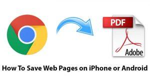 Cómo guardar páginas web en iPhone o Android para leerlas más tarde [Guide]