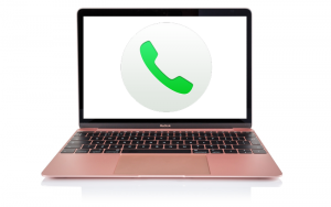 Cómo hacer una llamada telefónica desde una Mac