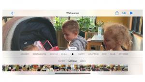 Cómo hacer una presentación de diapositivas de video en tu iPhone usando Fotos