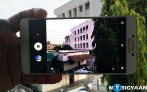 Cómo iniciar rápidamente la cámara en Samsung Galaxy C9 Pro [Guide]
