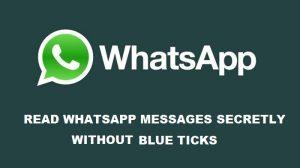 Cómo leer mensajes de WhatsApp en secreto sin marcas azules [Guide]