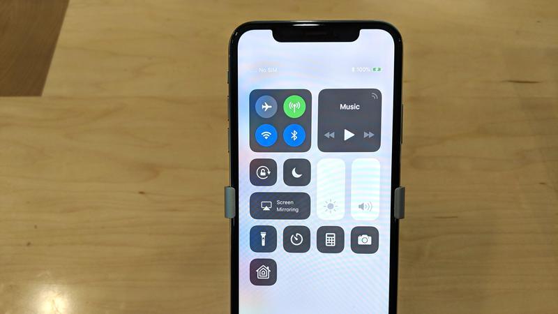 mostrar el porcentaje de batería del iphone xs