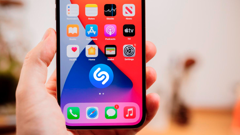 prueba de shazam apple music