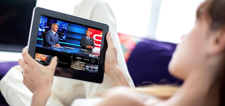 Prueba gratuita de Sling TV - Sling TV en tableta