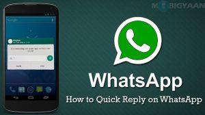 Cómo obtener una respuesta rápida de WhatsApp en Android [Beginner's Guide]