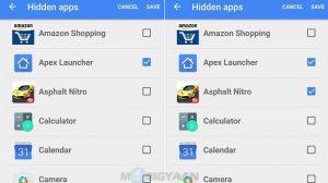 Cómo ocultar aplicaciones en su teléfono inteligente Android [Guide]