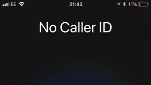 Cómo ocultar el identificador de llamadas en iPhone
