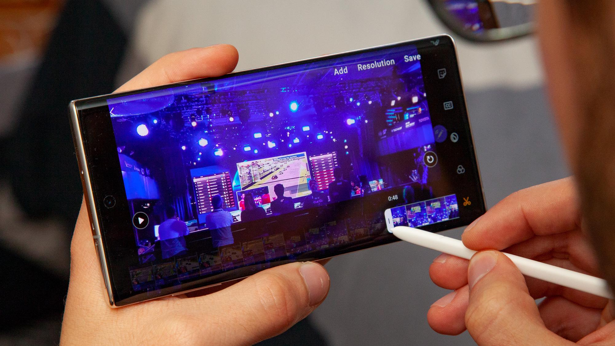Cómo personalizar la configuración de pantalla del Galaxy Note 10