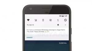 Cómo programar mensajes de WhatsApp en un teléfono inteligente Android [Guide]