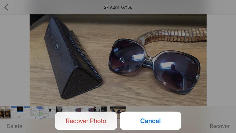 como recuperar foto de archivo borrada iphone 1600