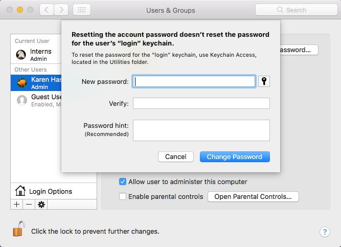 Cómo recuperar una contraseña de Mac olvidada: llavero
