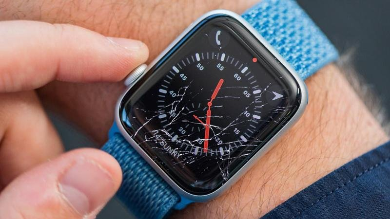 Cómo reparar el Apple Watch roto y rayado