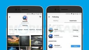 Cómo seguir los hashtags de Instagram como cuentas normales [Beginner's Guide]