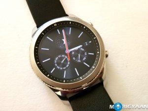 Cómo tomar una captura de pantalla en el reloj inteligente Samsung Gear S3 [Guide]