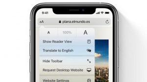 Cómo traducir páginas web en Mac, iPhone y iPad