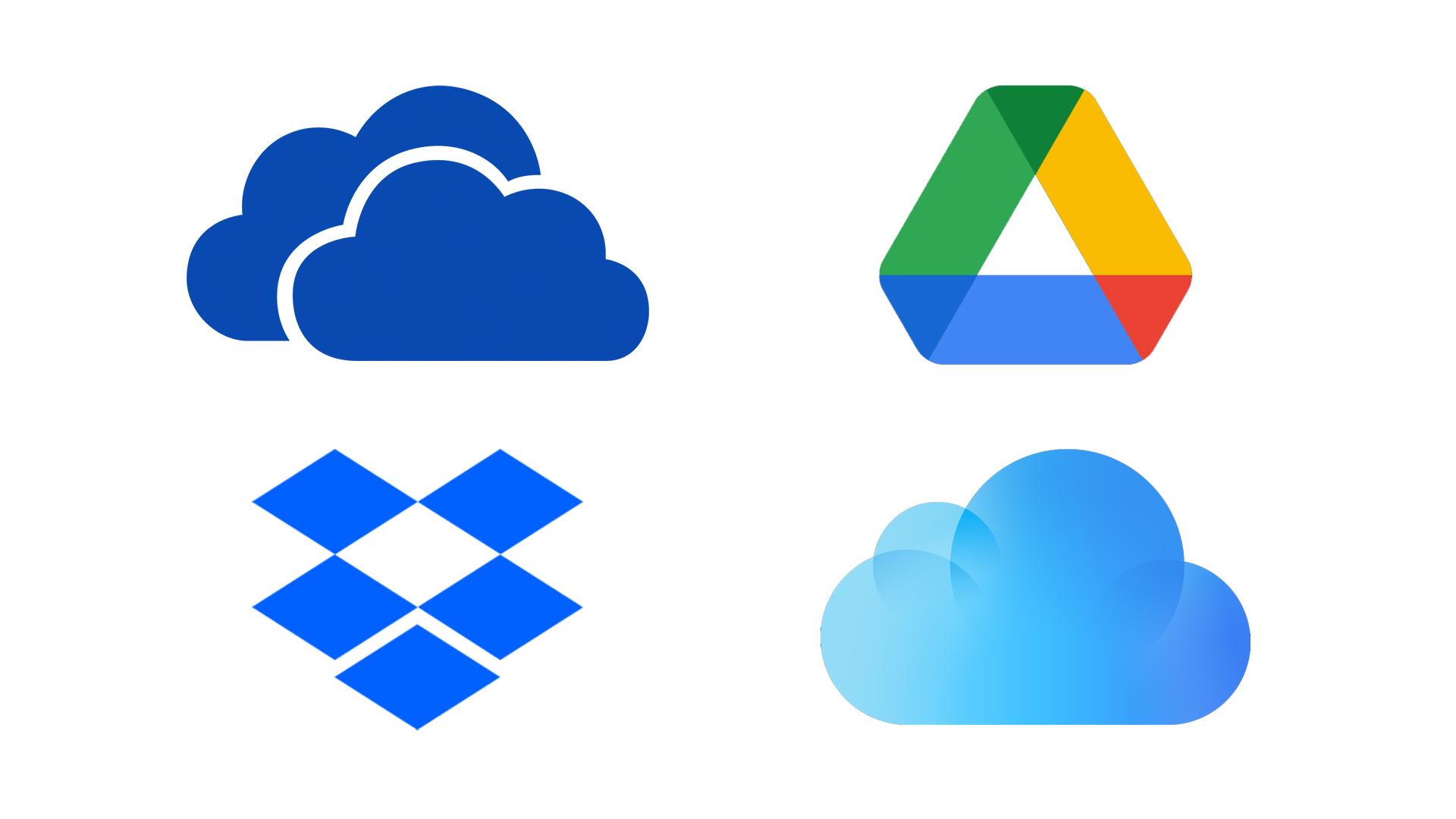 Cómo usar Dropbox, OneDrive, Google Drive o iCloud