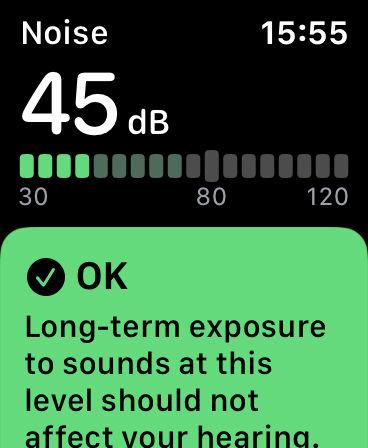 Cómo usar Noise en Apple Watch: OK