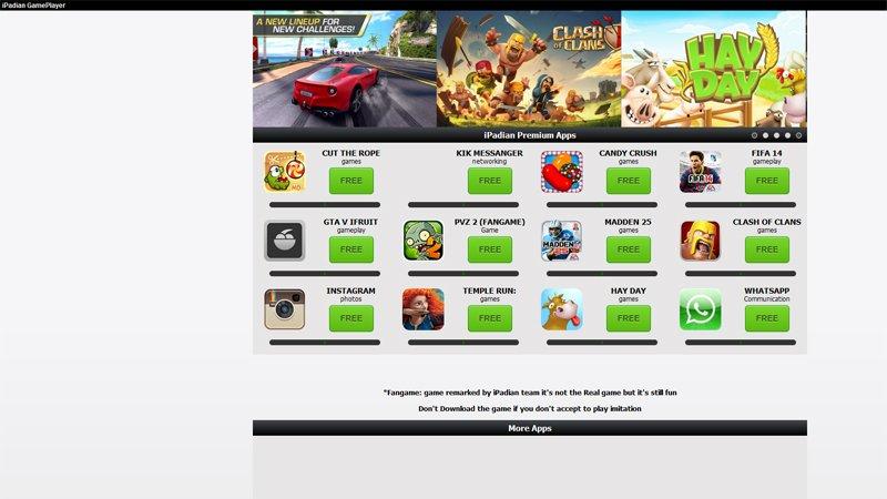 Cómo ejecutar aplicaciones y juegos de iPhone y iPad en Mac: tienda de aplicaciones iPadian