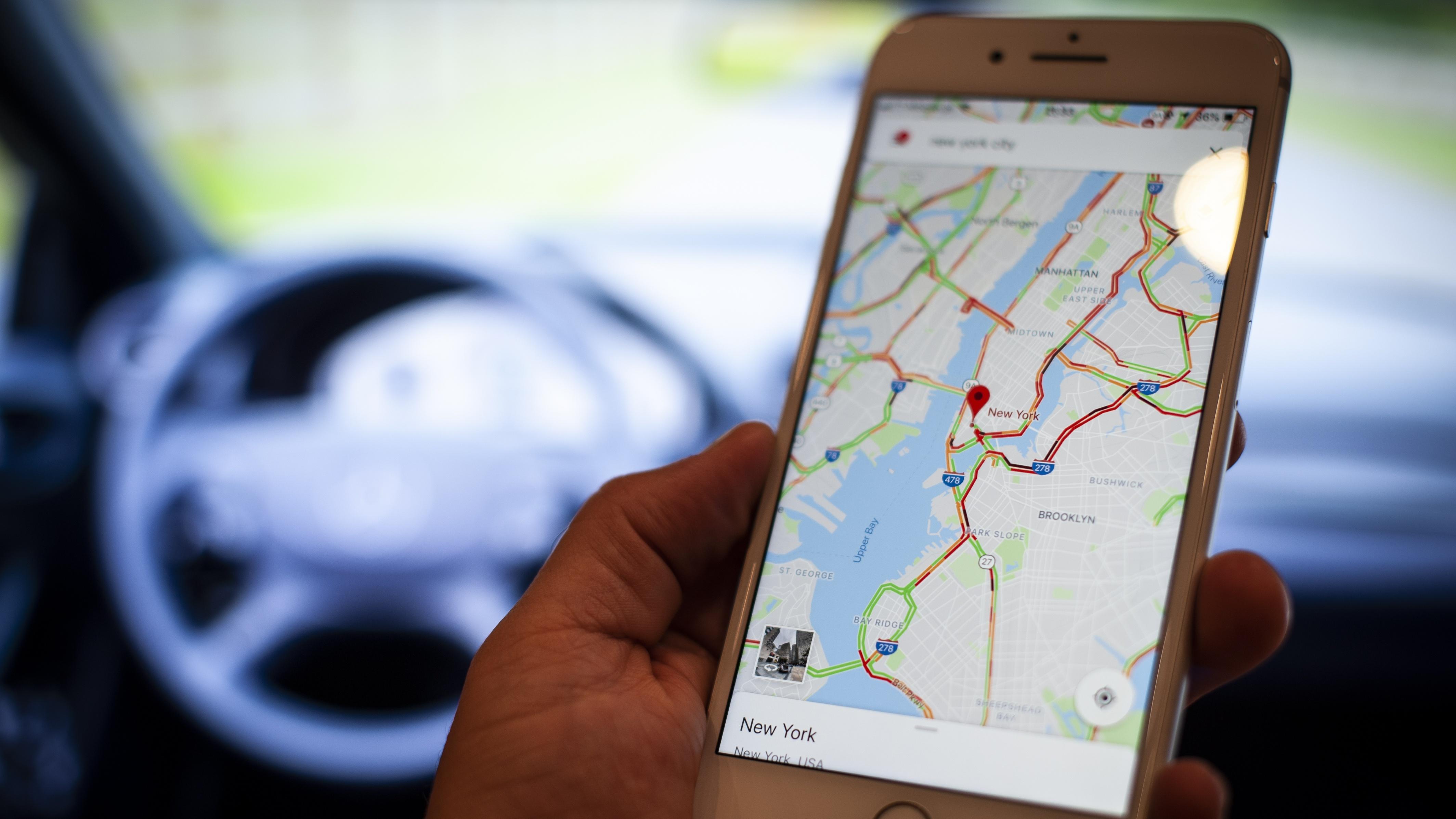 Cómo usar el modo incógnito de Google Maps en iOS