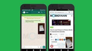 Cómo usar las videollamadas en modo Picture-in-Picture en WhatsApp [Android Oreo Guide]