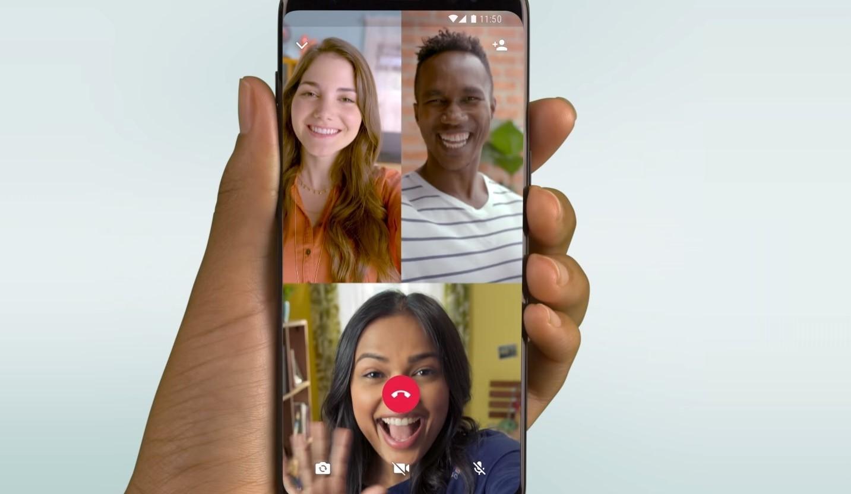 Cómo usar la videollamada grupal de WhatsApp