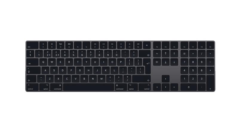 cómo usar el teclado mac en Windows Main