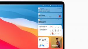 Cómo usar widgets en Mac