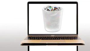 Cómo vaciar la basura en una Mac