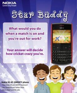 Concurso Nokia India Star Buddy