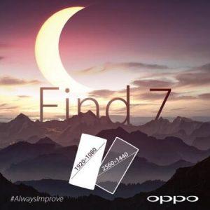 Confirmado el lanzamiento de Oppo Find 7;  viene en dos versiones