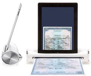 Conozca iConvert: un dispositivo que le permite usar su iPad como un escáner portátil