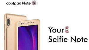 Coolpad Note 6 con cámaras frontales duales y batería de 4070 mAh lanzado en India como producto exclusivo fuera de línea