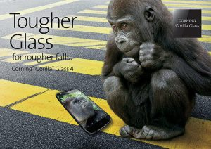 Corning Gorilla Glass 4 con resistencia al daño mejorada anunciada