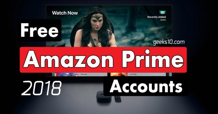 Cuentas Amazon Premium Prime gratuitas 2021 (100% en funcionamiento)