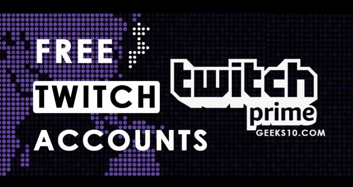 Cuentas premium gratuitas de Twitch Prime 2019 (en funcionamiento)