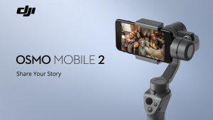 DJI Osmo Mobile 2 se vuelve oficial con hasta 15 horas de duración de la batería