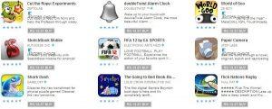 Descarga Cut the Rope: Experiments, FIFA 12 y más aplicaciones por solo Rs.  14 en Play Store