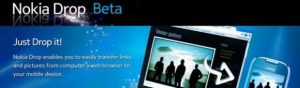 Descargue aplicaciones de forma inalámbrica desde la tienda Ovi usando Nokia Drop