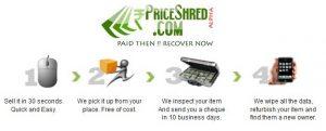 Deseche sus viejos teléfonos móviles y gane dinero en efectivo con PriceShred