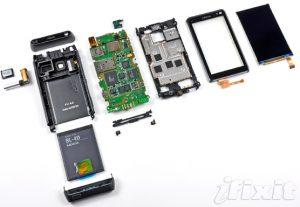 Desmontaje de Nokia N8