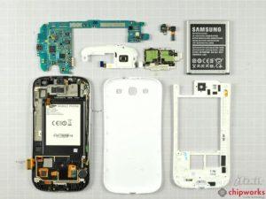 Desmontaje del Samsung Galaxy S III