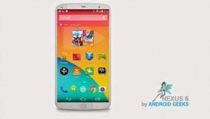 Nexus 6 puede hacer alarde de una pantalla Quad HD de 5,2 pulgadas con escáner de huellas dactilares
