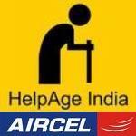 Done su viejo teléfono para personas mayores en Hogares de Vejez.  Una iniciativa de Aircel y Helpage India
