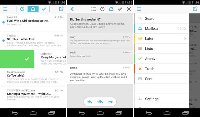 Dropbox-Mailbox-aplicación-android