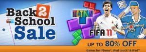 EA anuncia la venta de juegos móviles de regreso a clases para dispositivos iOS