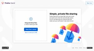 Mozilla anuncia Firefox Send, un servicio gratuito de intercambio de archivos cifrados de extremo a extremo
