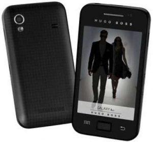 Edición especial Hugo Boss - Samsung Ace revelado para Francia