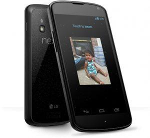 LG y Google lanzan Nexus 4 en India a Rs.  25999